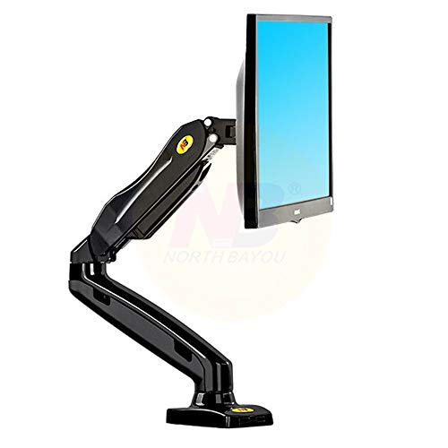 LXYFMS TV Stand LED Display Stand Desktop Rotation Desktop17-27 LCD Stand Arm Spring Full Mobile Stand 2-6.5kgs TV Bracket (Color : A)