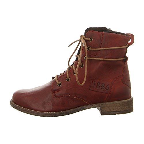 Josef Seibel99663mi720/630 - botas estilo motero Mujer burdeos