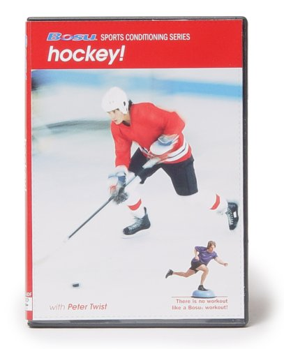 Bosu Sports Conditioning Series Hockey DVD with Peter Twist