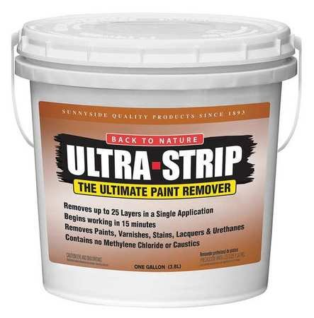 BACK-TO-NATURE US01 Paint and Varnish Remover,1 gal. ()