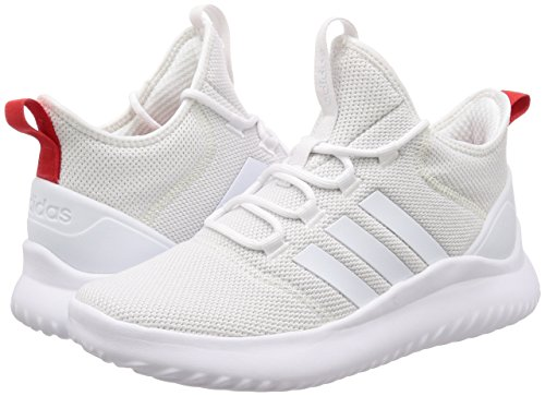 Chaussures chaussures Bball Adidas Blanc Hommes Baskets Montantes Cloudfoam Rouge Rouge Ultimate zwxx4pOqWf