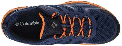 Sneakers Uomo Columbia Waterproof, Ventrailia 3 Low Blue (zinc, White)