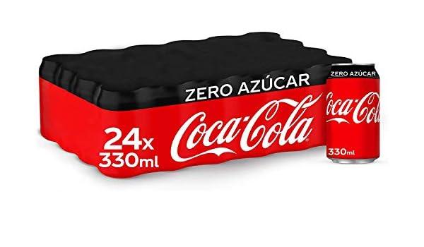 Coca-Cola Zero Azúcar Lata - 330 ml (Pack de 48): Amazon.es: Alimentación y bebidas