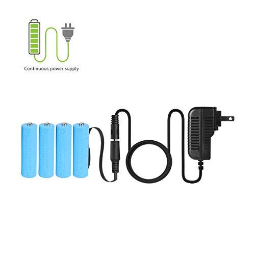 LANMU AA Battery Eliminator Power Adapter (Replace 4 AA Battery)