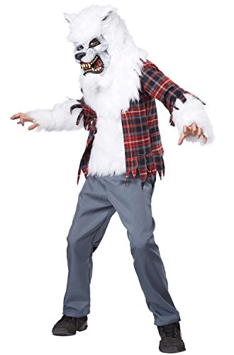 California Costumes White Werewolf Costume, One Color, 8-10 -