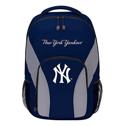 - MLB New York Yankees DraftDay Backpack, 18-Inch, Blue