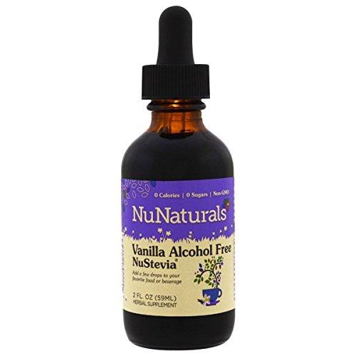 NuNaturals, Vanilla NuStevia, Pure Liquid, Alcohol Free, 2 fl oz (59 ml) NuNaturals, Vanilla NuStevia, Pure Liquid, Alcohol Free, 2 fl oz (59 ml) - 2pcs