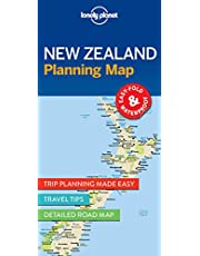 Lonely Planet New Zealand Planning Map 1 1st Ed.