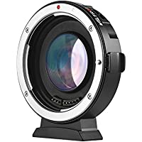 Viltrox EF-M2 Auto Focus Lens Mount Adapter 0.71X for Canon EOS EF Lens to Micro Four Thirds (MTF, M4/3) Camera