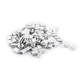 100 piezas de aluminio de reloj de Arena de la Manga DE 3 mm x 12