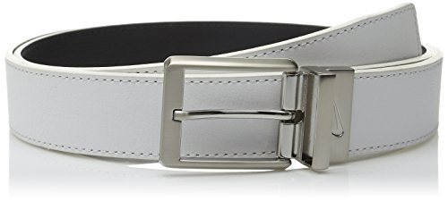 Nike Men's Core Reversible Belt, White/Black, 34 - Nike Reversible Belt Accessories