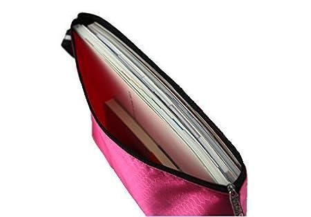 mmy-perles Matte Calcio chemise-paquet Portafoglio Pochette in pvc Zip Documento dossier-5/PCS A4