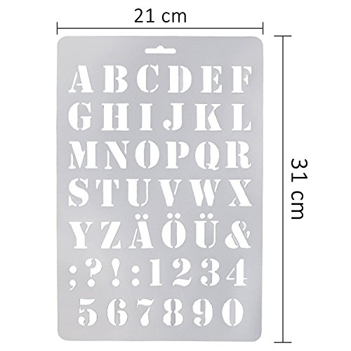 The 8 best craft stencils letters