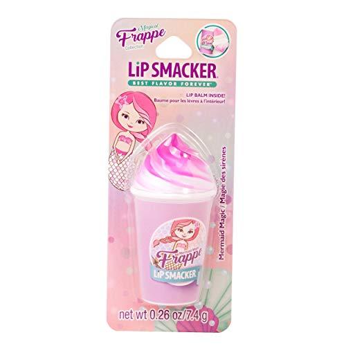 Lip Smacker Frappe Cup Lip Balm, Mermaid Magic, 1 Tube, Prevent Chapped Lips