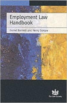 Book Employment Law Handbook