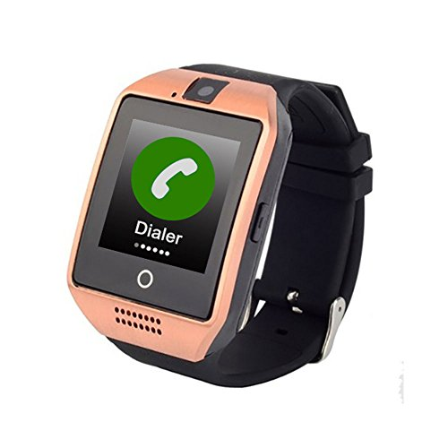 GPS Tracker For Kids Children Smart Watch Kids Wrist Watch Anti-lost SOS Call Location Finder Remote Monitor Pedometer Functions Elderly Parent Control By iPhone and Android Smartphones APP (Gold)