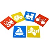 Transport Stencils (Set of 6)