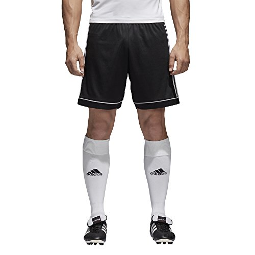 Training Squadra (adidas Men's Soccer Squadra 17 Shorts, Black/White, Large)
