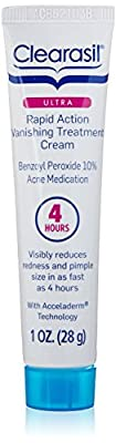 Best Cheap Deal for Clearasil Ultra Rapid Action Vanishing Acne Treatment Cream, 1 Ounce from Clearasil - Free 2 Day Shipping Available
