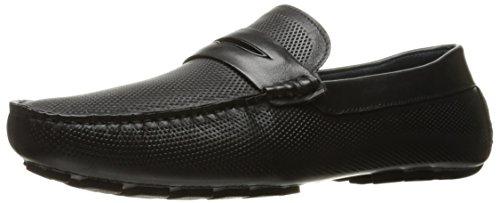 ZANZARA Mens Mondrian Slip-On Loafer Black