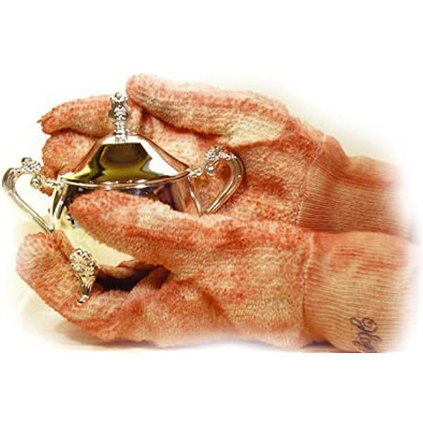 Gloves to protect fingers while polishing for jeweller and jewellery STS