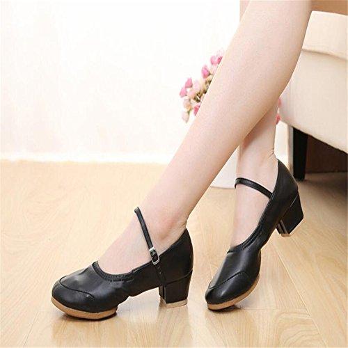 Verano Zapatos De Baile Zapatos De Baile Zapatos De Baile Del Vientre Inferior Suave Negro