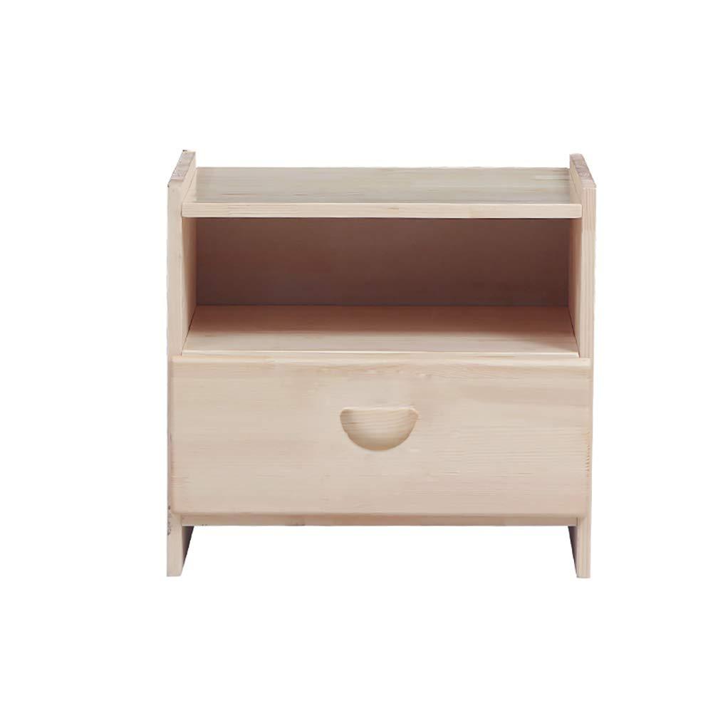 Small coffee table Möbel Nachttisch Multifunktionsschließfach Sofa Beistelltisch, leicht zu reinigen, leicht mit Schublade zu reinigen, aus Holz 41,6  32  45CM