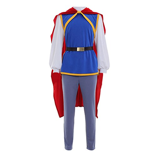 CosplayDiy Men's Suit for Grimm's Fairy Tales Snow White Prince Cosplay L]()