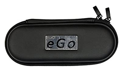 Baolifeng eGo Electronic Cigarette Cigar Box Travel Carry Case (Small, Black)