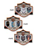 : Three Pack Harley Davidson Bar & Shield Wings #642