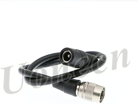 Compatible with DC Female to 4 pin Hirose Male Cable for Sound Device ZAXCOM Blackmagic