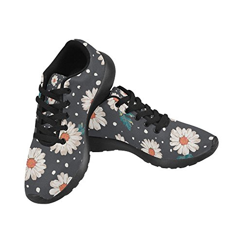 Pattern Daisy Casual 6 Shoes US Lightweight Athletic Flower Size Sneakers Print Pattern Women's Zenzzle 15 Running 8Iaw5qqF