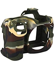Camera Protective Case, Camera Protective Shell Silicone Case Cover Fit for Nikon D7000 Camera Accessories(Camouflage)