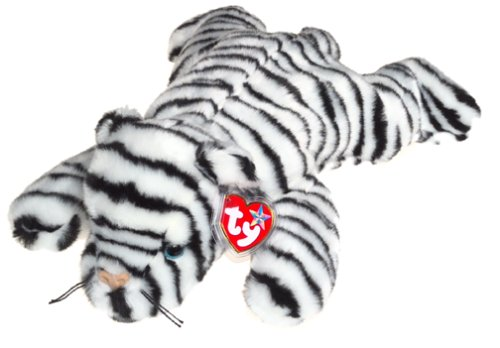 TY Beanie Buddy - WHITE TIGER the Tiger (Blizzard)