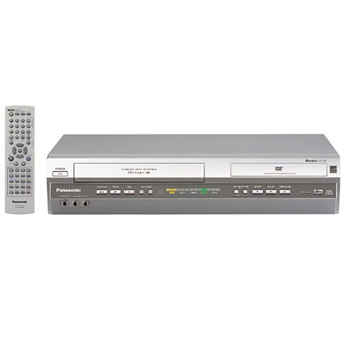 (Remanufactured Panasonic PV-D4745S Progressive Scan DVD/VCR Combination Deck with Multi-format Playback, Silver)