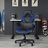 OFM ESS Collection Racing Style Bonded Leather