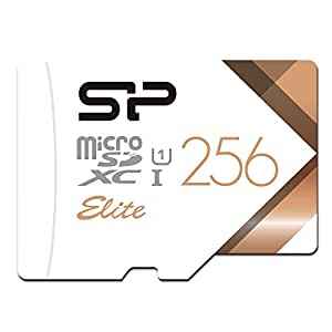 Silicon Power 256GB MicroSDXC UHS-1 Memory Card Limited Edition- with Adapter (SP256GBSTXBU1V21SP)