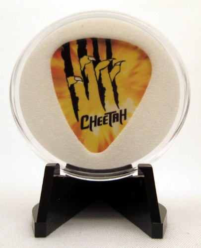 DC Comics Cheetah Logo Guitar Pick With Display Case & Easel - 100% MADE IN USA! (Dc Guitar Logo)