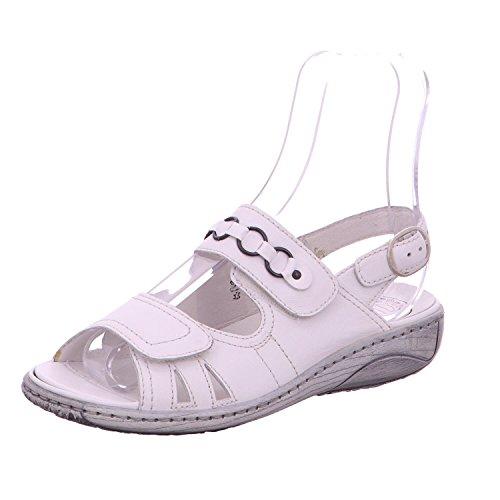 Waldläufer 210004-186-150 - Sandalias de vestir para mujer Blanco - blanco