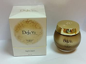 Deja Vu Dead Sea Minerals BioXage Anti-Aging Night Cream for face and decollete, 50ml 1.7fl.oz