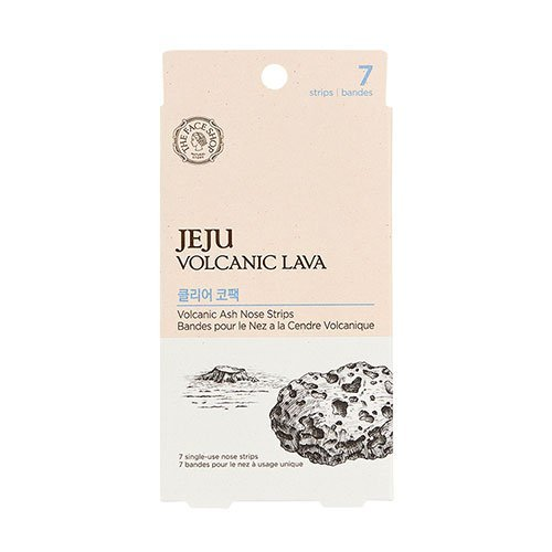 [The Face Shop] Jeju Volcanic Lava Ash Nose Strips Package by The Face Shop