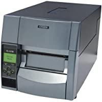 Citizen America CL-S700 CL-S700 Series Thermal Transfer/Direct Thermal Barcode and Label Printer with Adjustable Sensor, RS-232 Serial, 4 Maximum Print Width, 203 DPI Resolution, Black