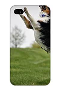 Stylishgojkqt Perfect Case For Iphone 4/4s/ Anti-scratch Protector Case (Animal Border Collie)