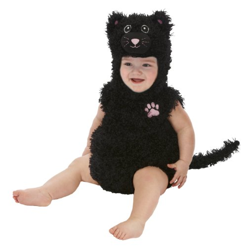 just-pretend-kids-infant-romper-0-6-months-black-cat