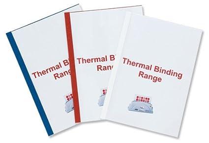 GBC ThermaBind Thermo-Bindemappen, weiß, 100 Stück, 3mm weiß 100 Stück IB370021