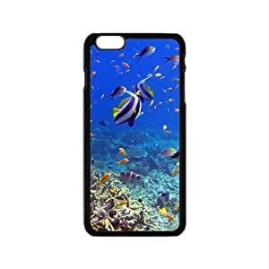 Fish World Hight Quality Plastic Case for Iphone 6
