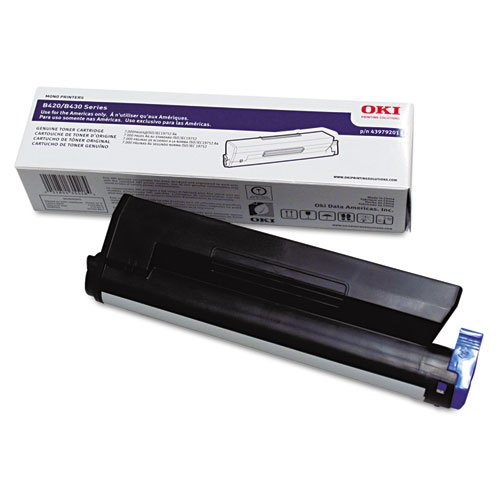 43979201 High-Yield Toner, 7000 Page-Yield, Black