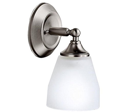 Ansonia Wall Sconce in Brushed Nickel
