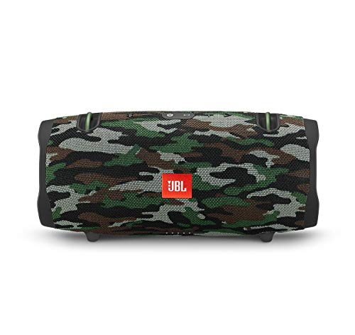 JBL Xtreme 2 Portable Bluetooth Waterproof Speaker Bundle with Hardshell Storage Case - Camouflage