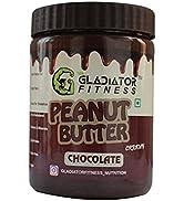 Gladiator Fitness Chocolate Peanut Butter | High Protein | Zero Cholesterol | Vegan | Gluten Free...